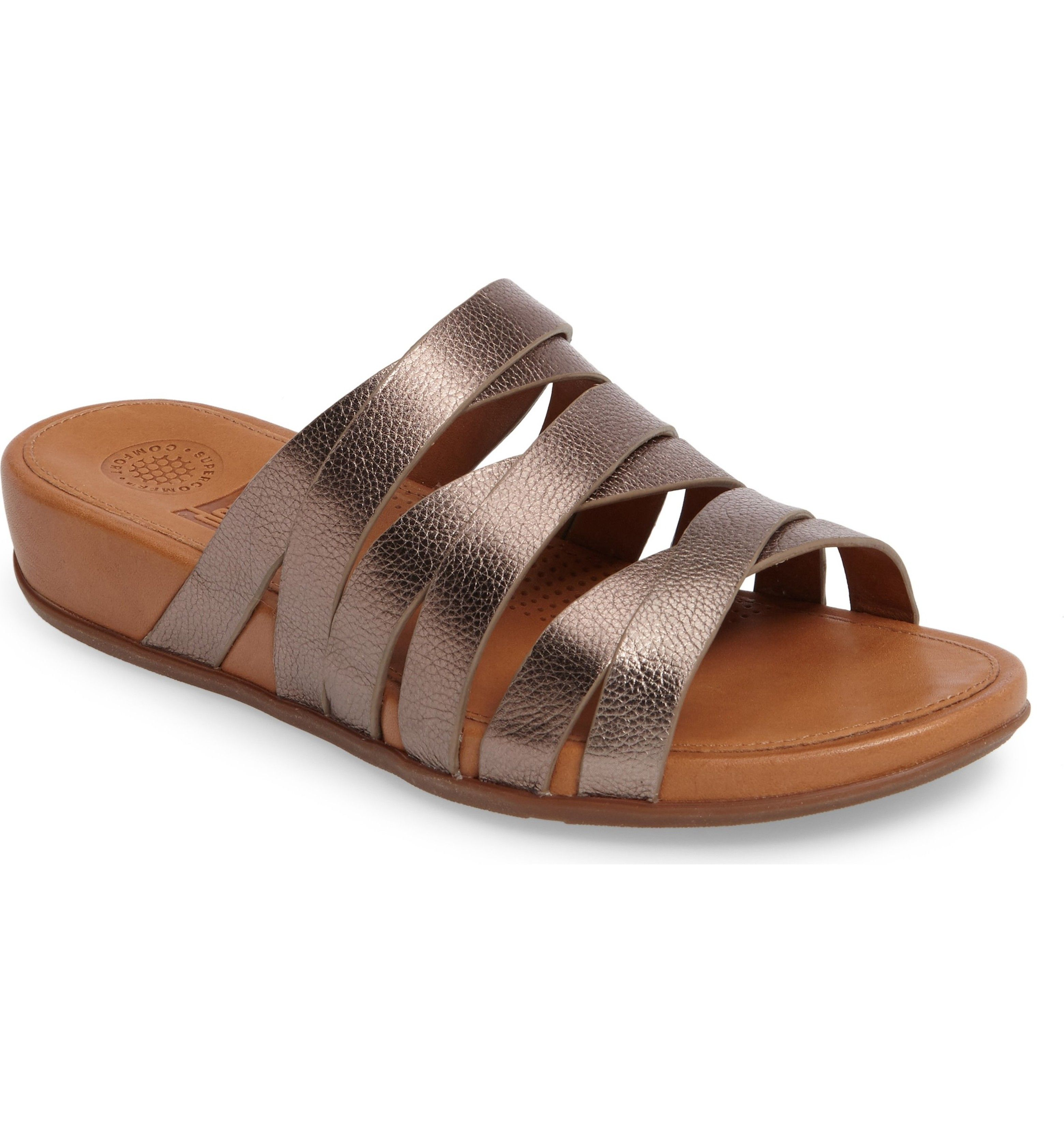 50a5d450041 Main Image - FitFlop™ Lumy Slide Sandal (Women)