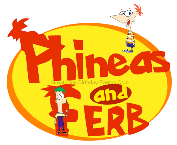 Disneys Phineas and Ferb Font Download this free font for your – Phineas and Ferb Birthday Card