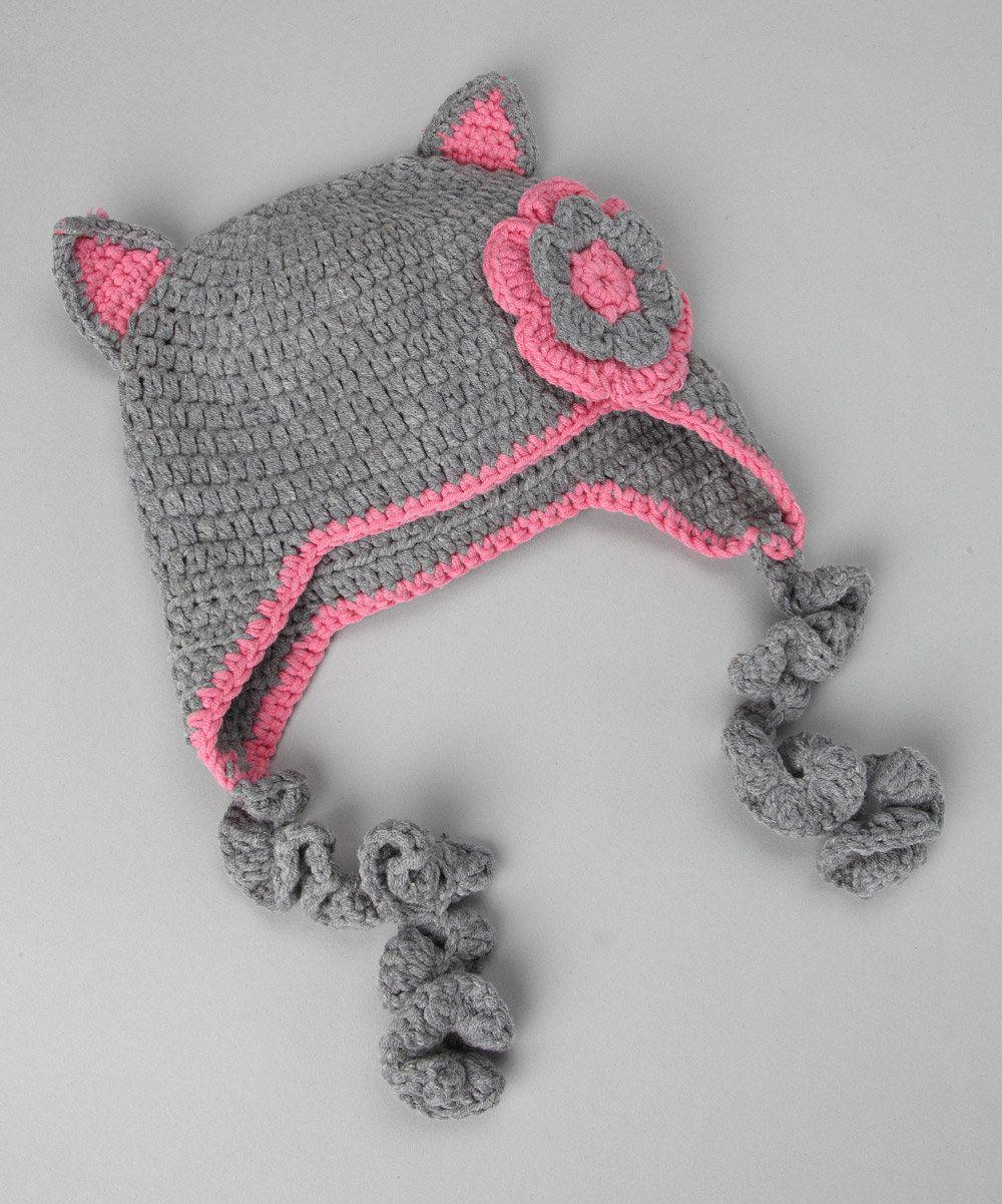 Cute Kitty Hat INSPIRATION!!!!! | Uñas | Pinterest | Gorros, Tejido ...