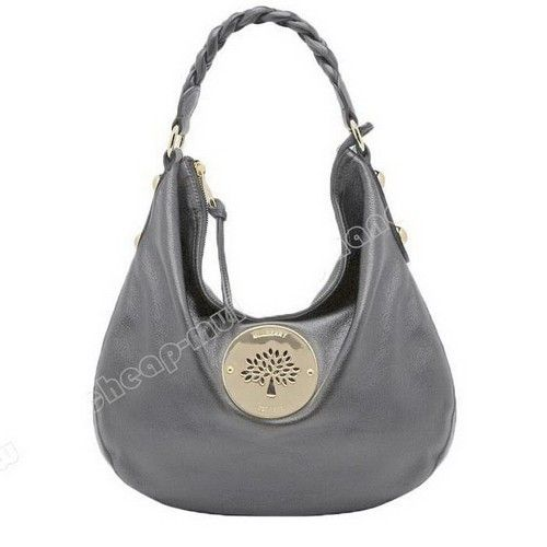 Essential Mulberry Daria Medium Hobo Shoulder Bag Grey  f5476051f8fca