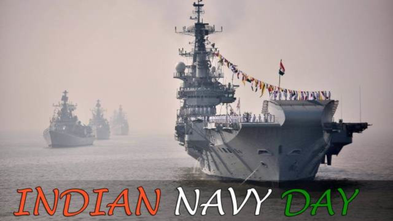 Navy Day Happy Navy Day Wishes Hd Wallpaper 1280x720