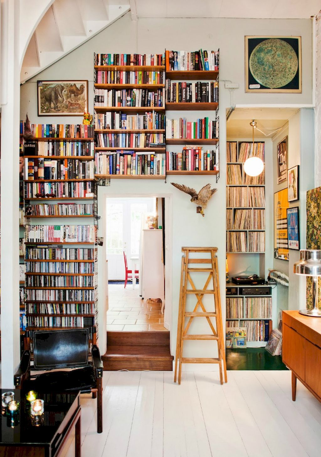 Cool Home Library Ideas: 60 Cool Ideas Vintage Library At