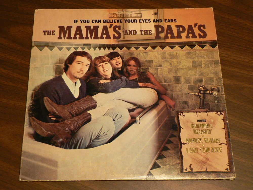 The Mamas and The Papas If You Can Believe Your Eyes and Ears LP Vinyl #1960s  $9.00