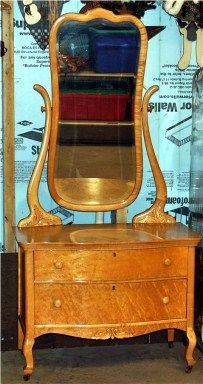1930s Birds Eye Maple Dresser Mine Is
