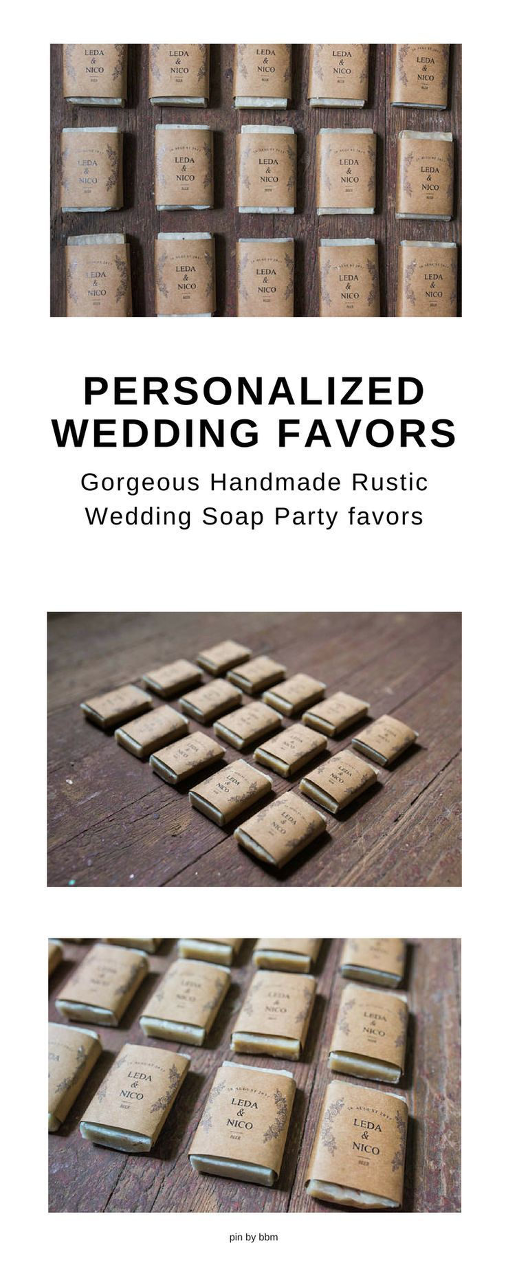 Gorgeous Hand made Soap. Perfect Rustic wedding Party Favor ...