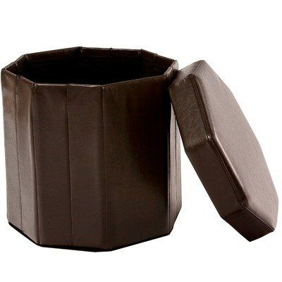 Special Offers - BEST Octagonal Folding Ottoman Brown - In stock & Free Shipping. You can save more money! Check It (May 14 2016 at 07:39AM) >> http://sofaarmchairusa.net/best-octagonal-folding-ottoman-brown/