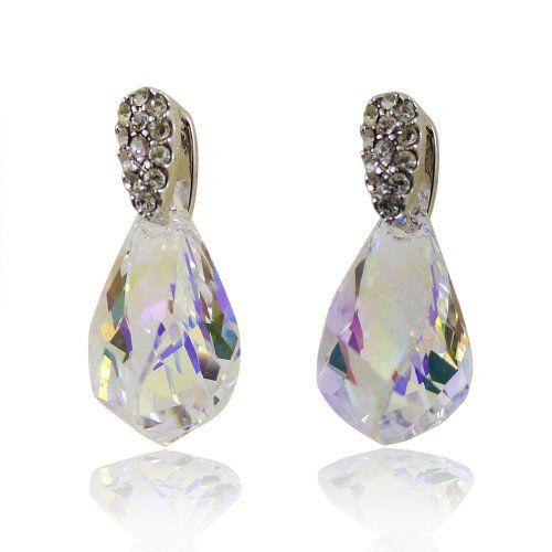 Bijoux De Ja Rhodium Plated Base Pear Swarovski Crystal Drop Earrings Bijoux De Ja http://www.amazon.com/dp/B00CRC6AW6/ref=cm_sw_r_pi_dp_4uV-vb1ZP8BWQ