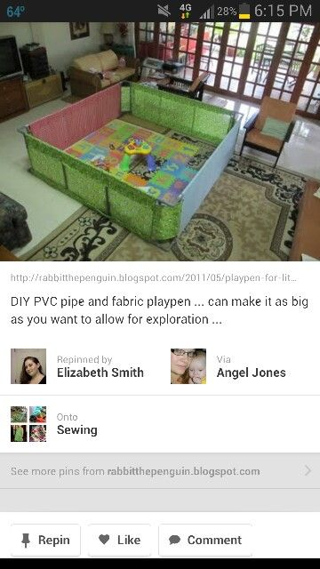 Pvc pipe play pin