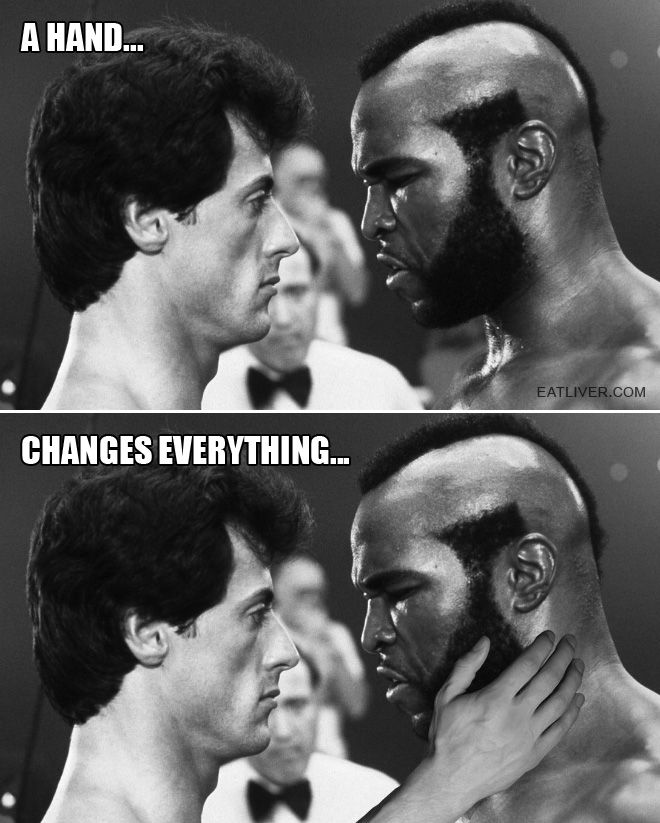 A Hand Changes Everything Crazy Funny Pictures Funny Pictures Haha Funny