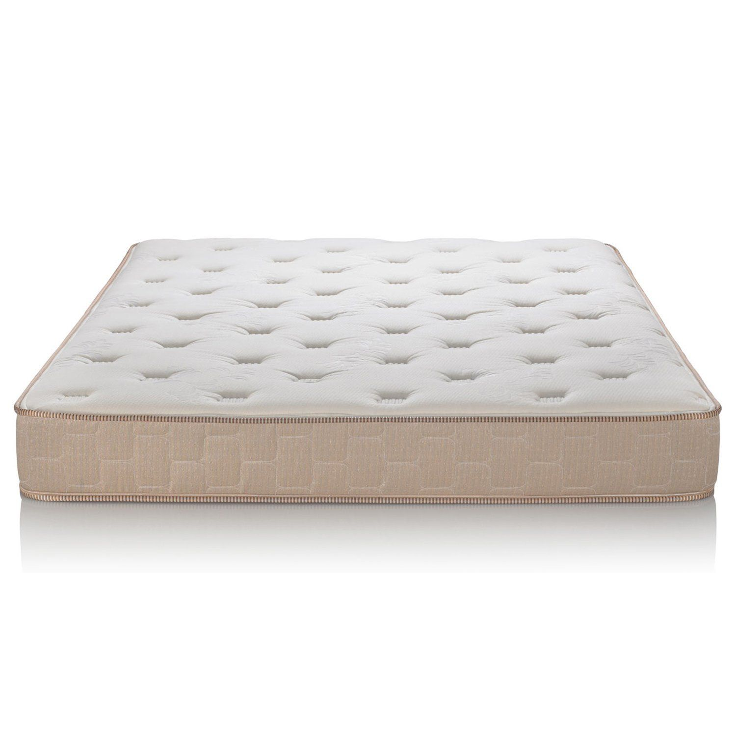 primasleep multi layered soft cloud memory foam mattress quilting