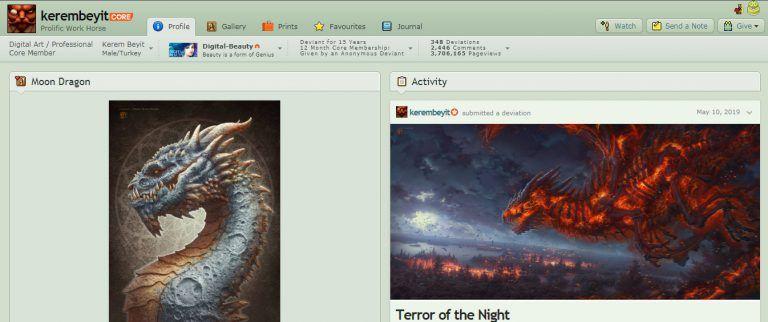 Free Websites To Create Your Online Art Portfolio Brushwarriors Art Portfolio Online Art Art Portfolio Website
