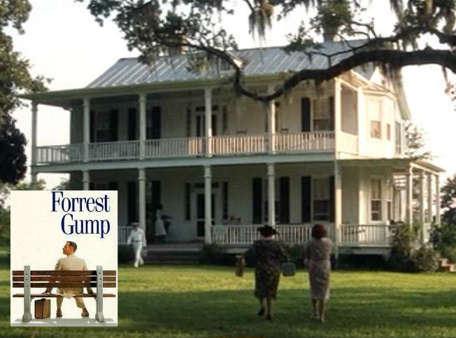forrest gump s big old house in alabama for my someday farmhouse rh pinterest com