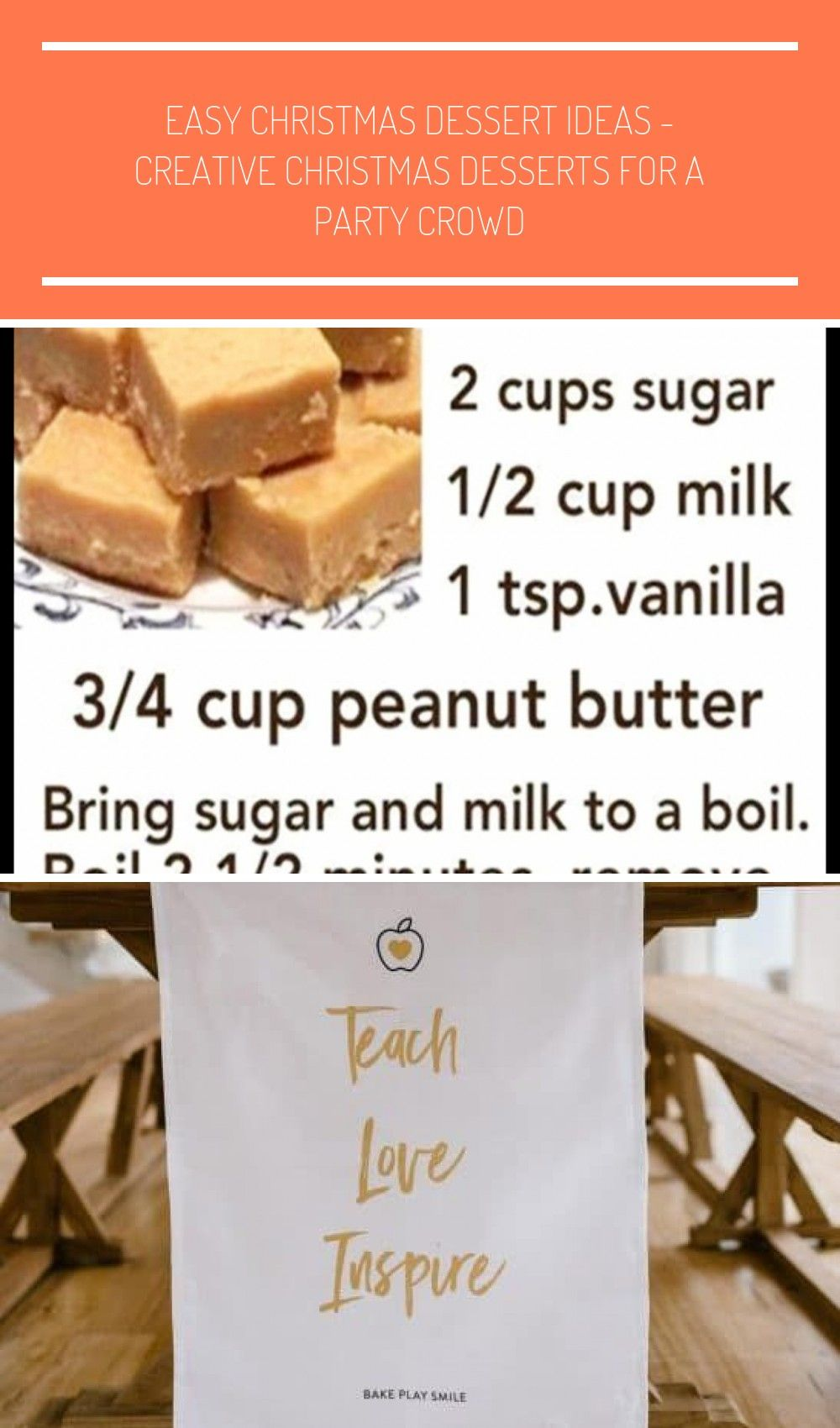 Easy Fudge Recipe Without Condensed Milk Quick And Simple Peanut Butter F Christmas Desserts Easy Peanut Butter Fudge Recipes Easy Creative Christmas Dessert