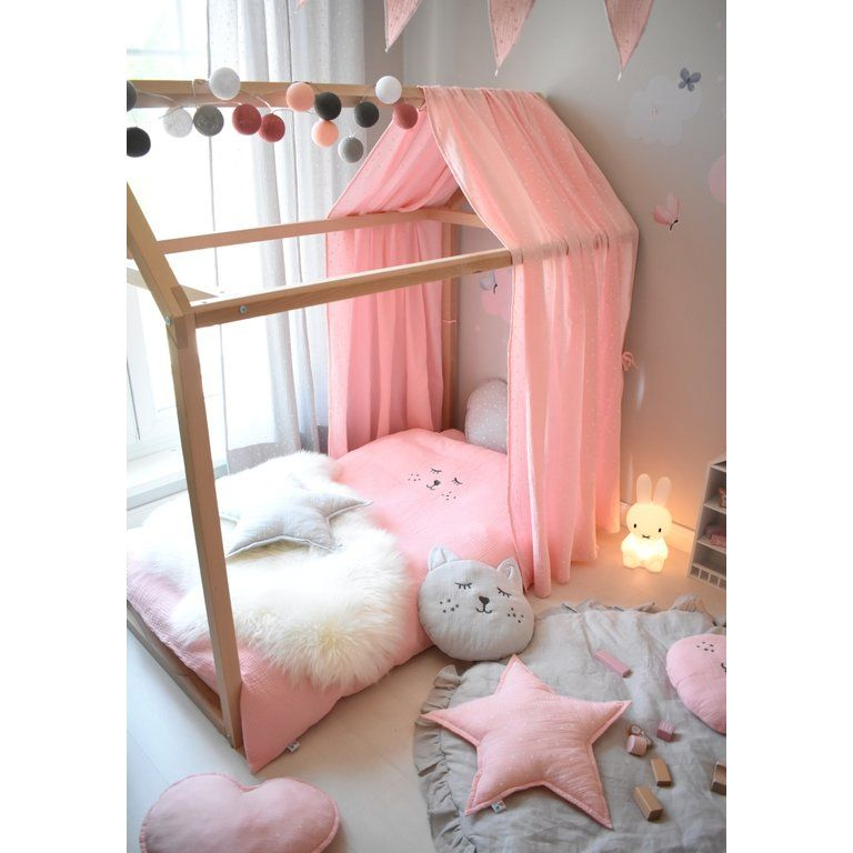 Photo of good moods LED String Lights Cotton Balls powder pink / dusky pink …
