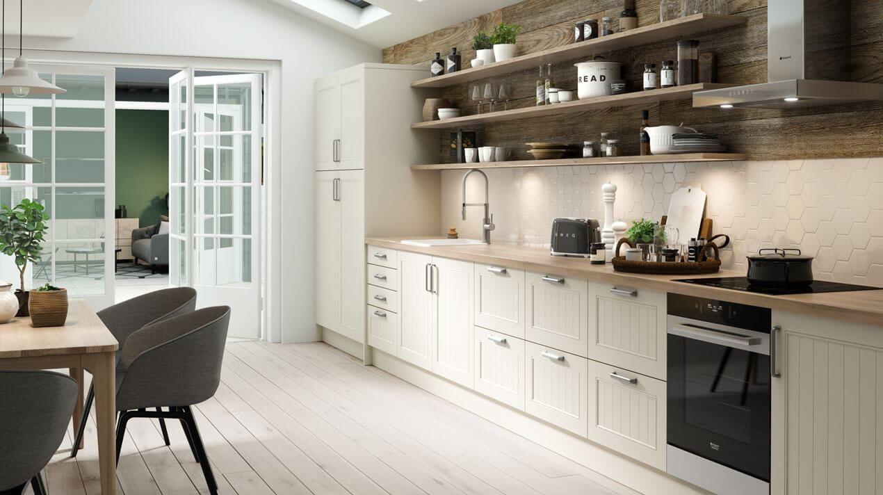 skandinavische landhausk che ideen bilder tipps f r die planung und umsetzung wohnen. Black Bedroom Furniture Sets. Home Design Ideas