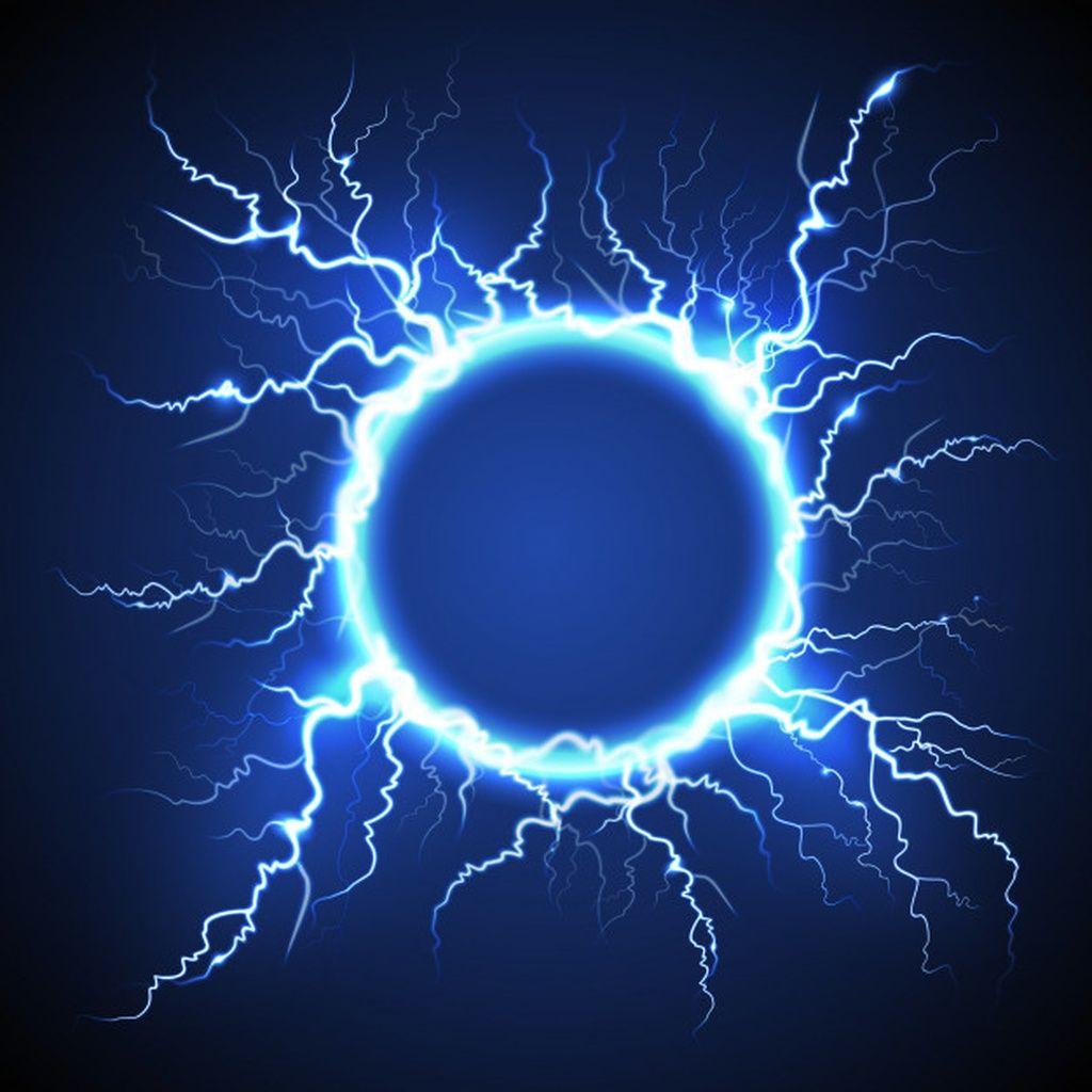 Circle Lightning Realistic Blue Background Paid Paid Paid Lightning Back Disenos De Fondo Fondos De Pantalla Brillos Descargas De Fondos De Pantalla