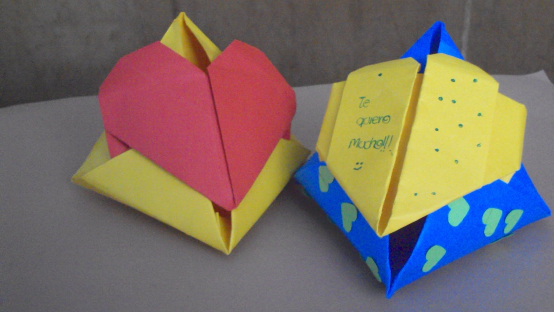 Caja O Bolsa Triangular De Regalo