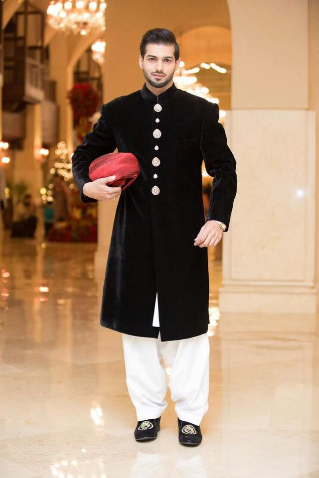 Pakistani Men Wedding Dresses for Groom | Wedding dress