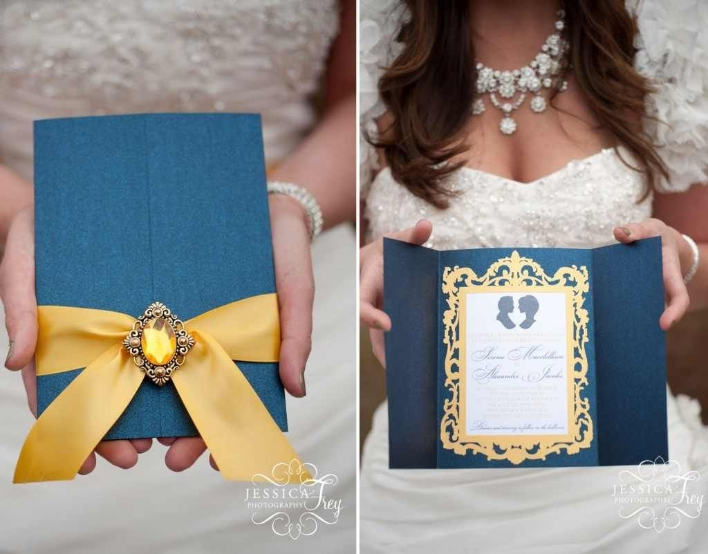 Beauty And The Beast Theme Invitations. If I Didnu0027t Already Have My Invites