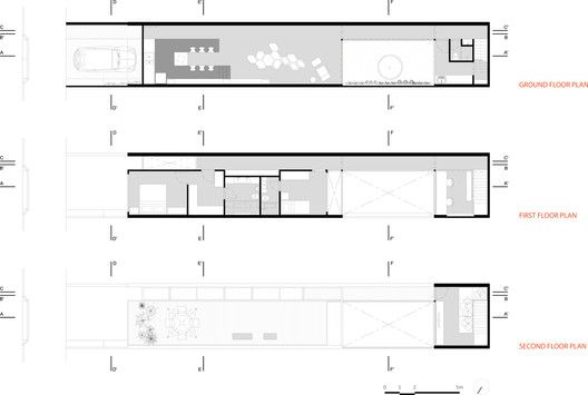 Casa 4 x 30,plantas