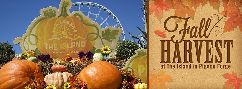 Check out all of our events going on this fall at The Island in Pigeon Forge