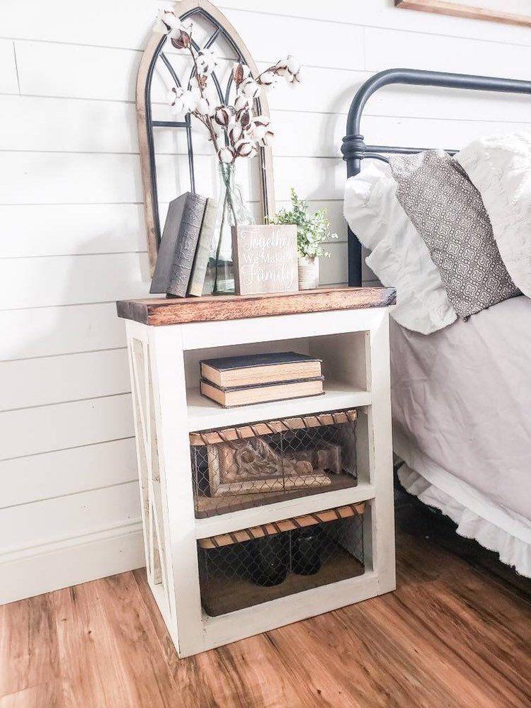 44+ Farmhouse chic nightstand type