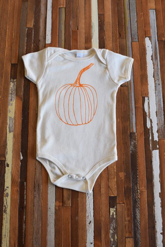 Organic Baby Clothing Screen Printed Baby One by ohlittlerabbit