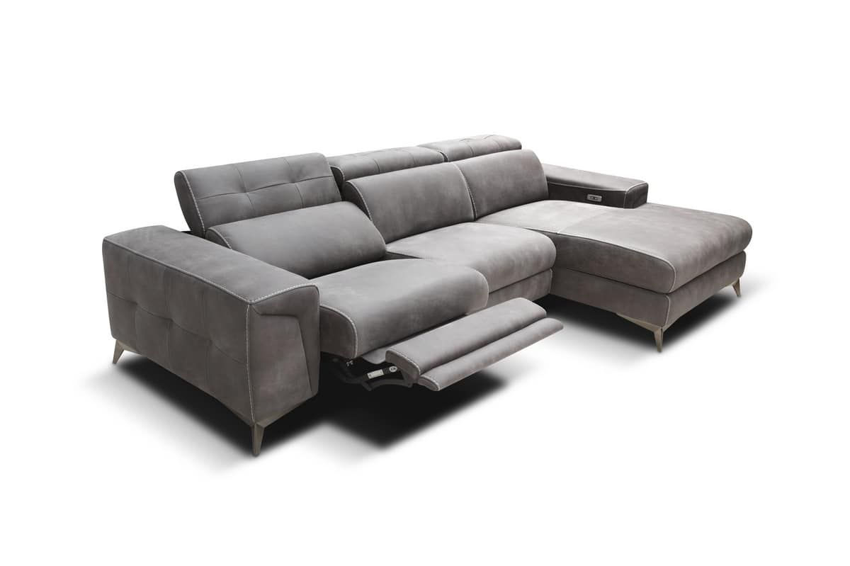 Sofa Relax Con Usb Modular Sofa With Relax Mechanisms And Usb Port Relaxační