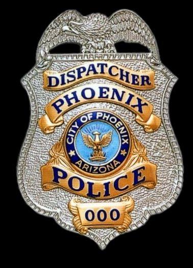 Phoenix, AZ Police Department Badge | Eagle Top Police