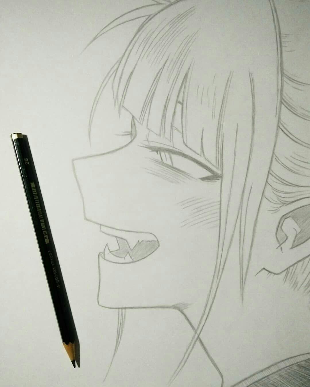 Himiko Toga Em 2020 Desenho De Olho De Anime Vampiro Desenho Tumblr Desenhos Faceis