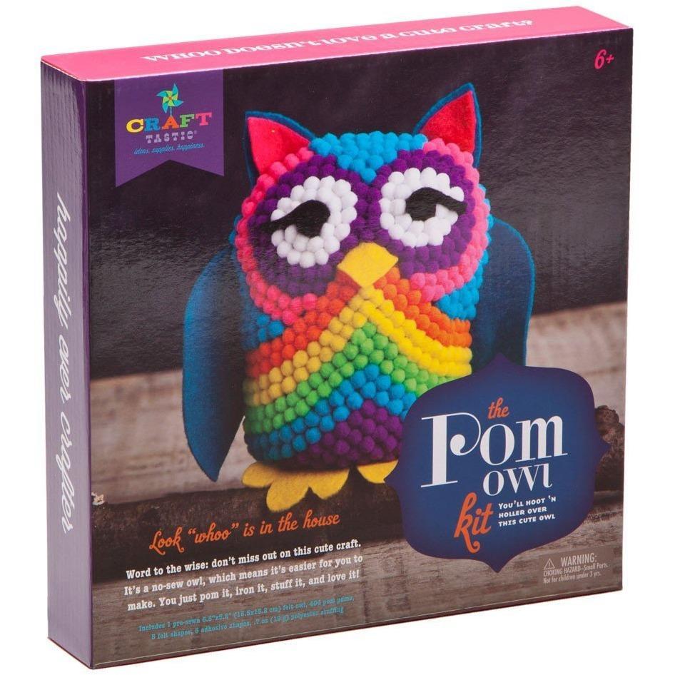 e7016134a Craft-tastic Pom Owl Kit | Products | Crafts, Owl crafts, Owl kids