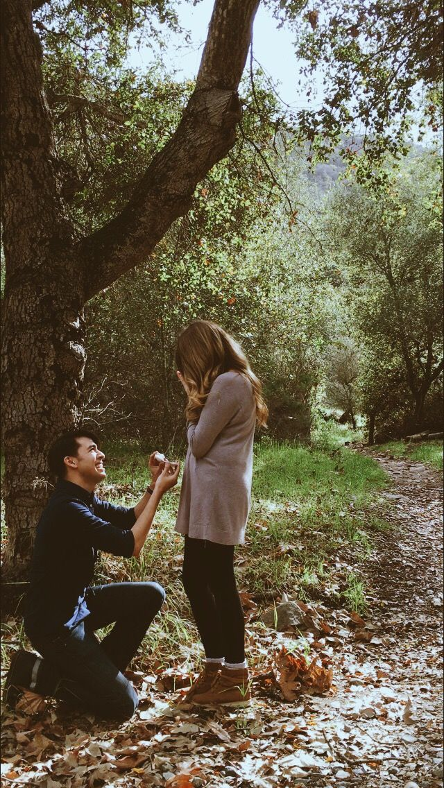 Tayia And Josephs Proposal Story On Proposals Woods And Engagement
