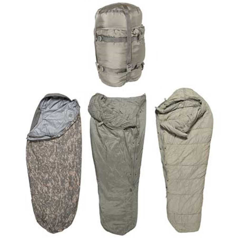 us army acu improved 5 part modular sleep system imss military sleeping bag army military and. Black Bedroom Furniture Sets. Home Design Ideas