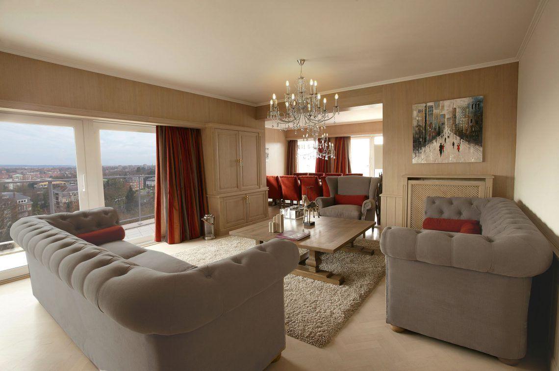 Marcotte style interieur ontwerper penthouse strak for Interieur landelijke stijl