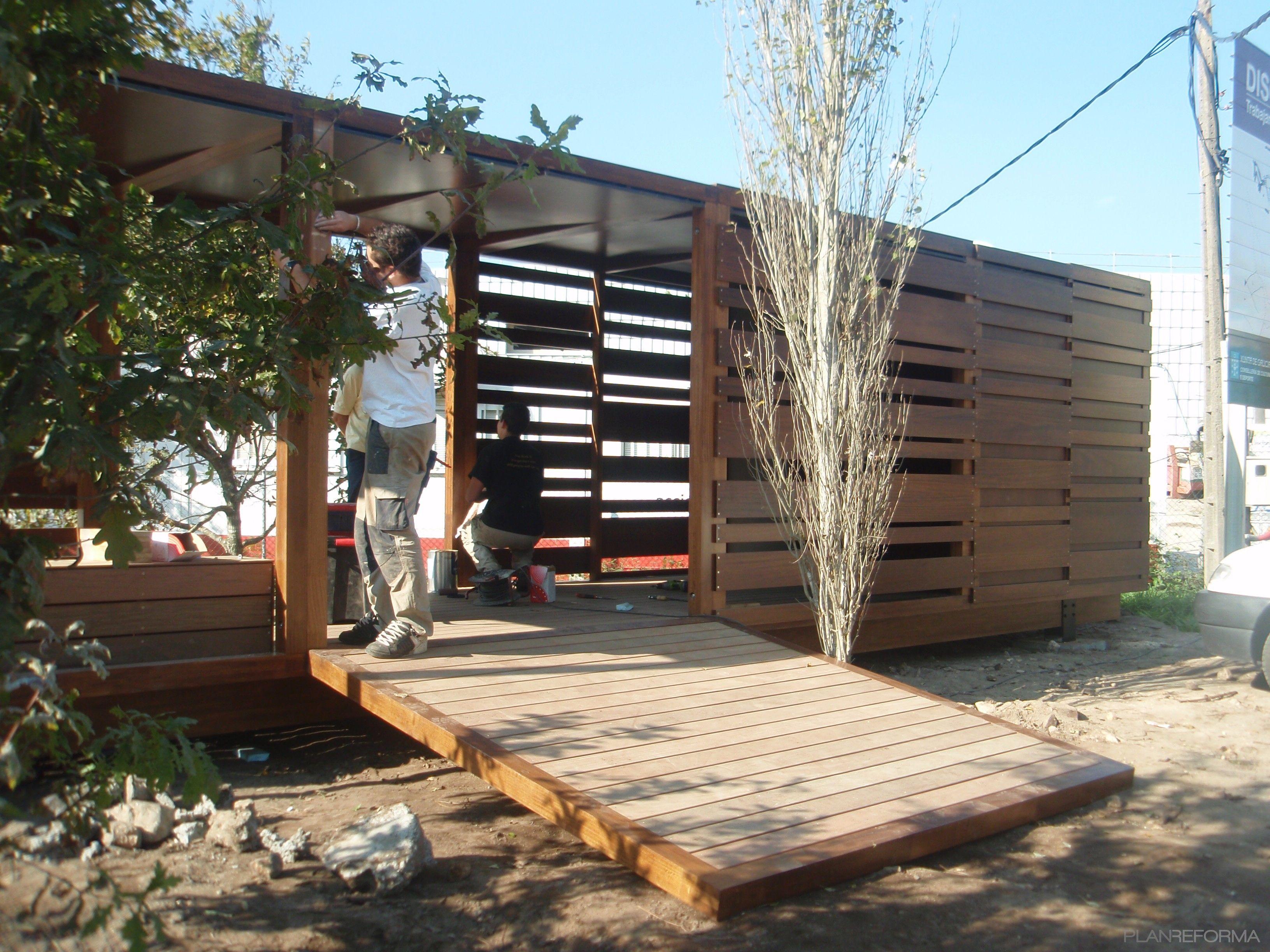 Ideas De Paisajismo Exterior Jardin Estilo Vanguardista Dise Ado  # Muebles Fuentes Carballo