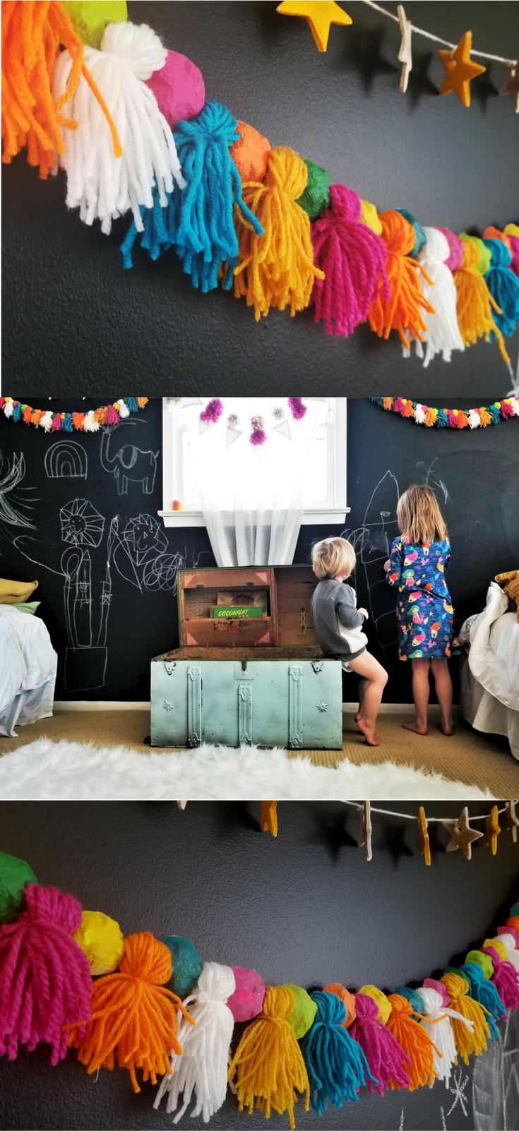 Shelves For Decor Ideas #decor Ideas 5 Minute Crafts #ideas Decor Entrance #dec...#crafts #dec #decor #entrance #ideas #minute #she… In 2020 | Diy Garland, Garland, Crafts