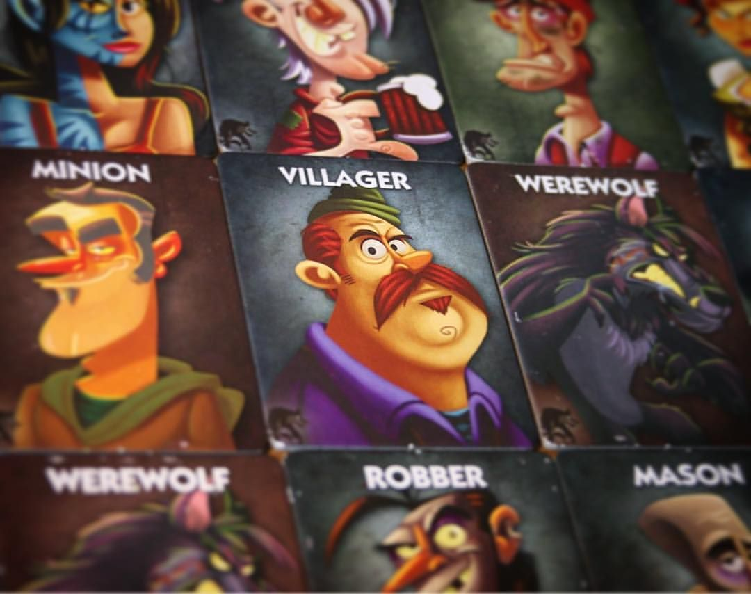 One Night Ultimate Werewolf - Board game | Character
