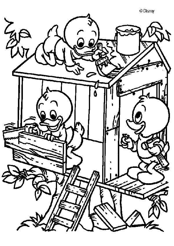 Disney Coloring Page Desenhos Para Colorir Patolino E Paginas