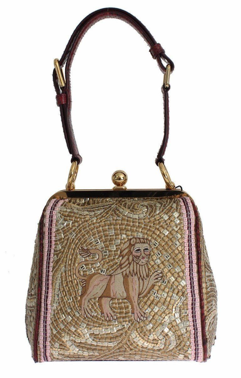 AGATA Silk Python LION Print Shoulder Hand Bag   Products ... b07c7bad31