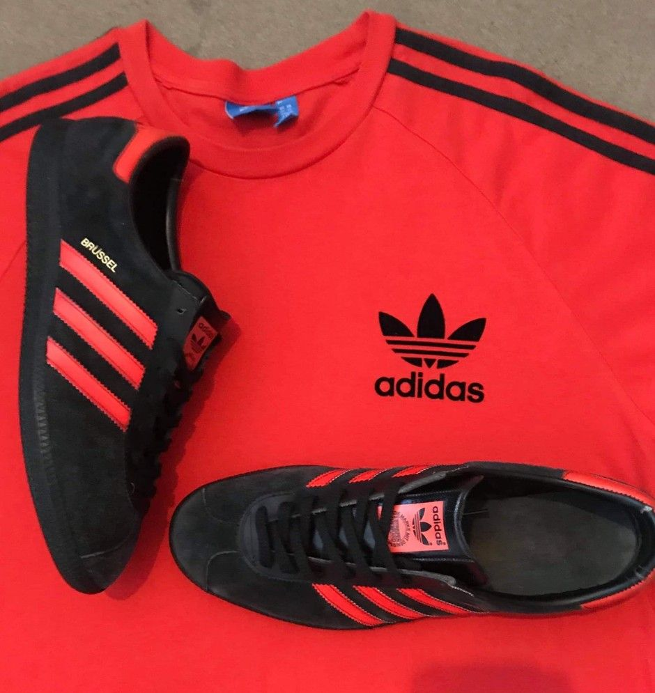 reputable site b9255 f0afc Crackin  pic of vintage Austrian made adidas Brussel.