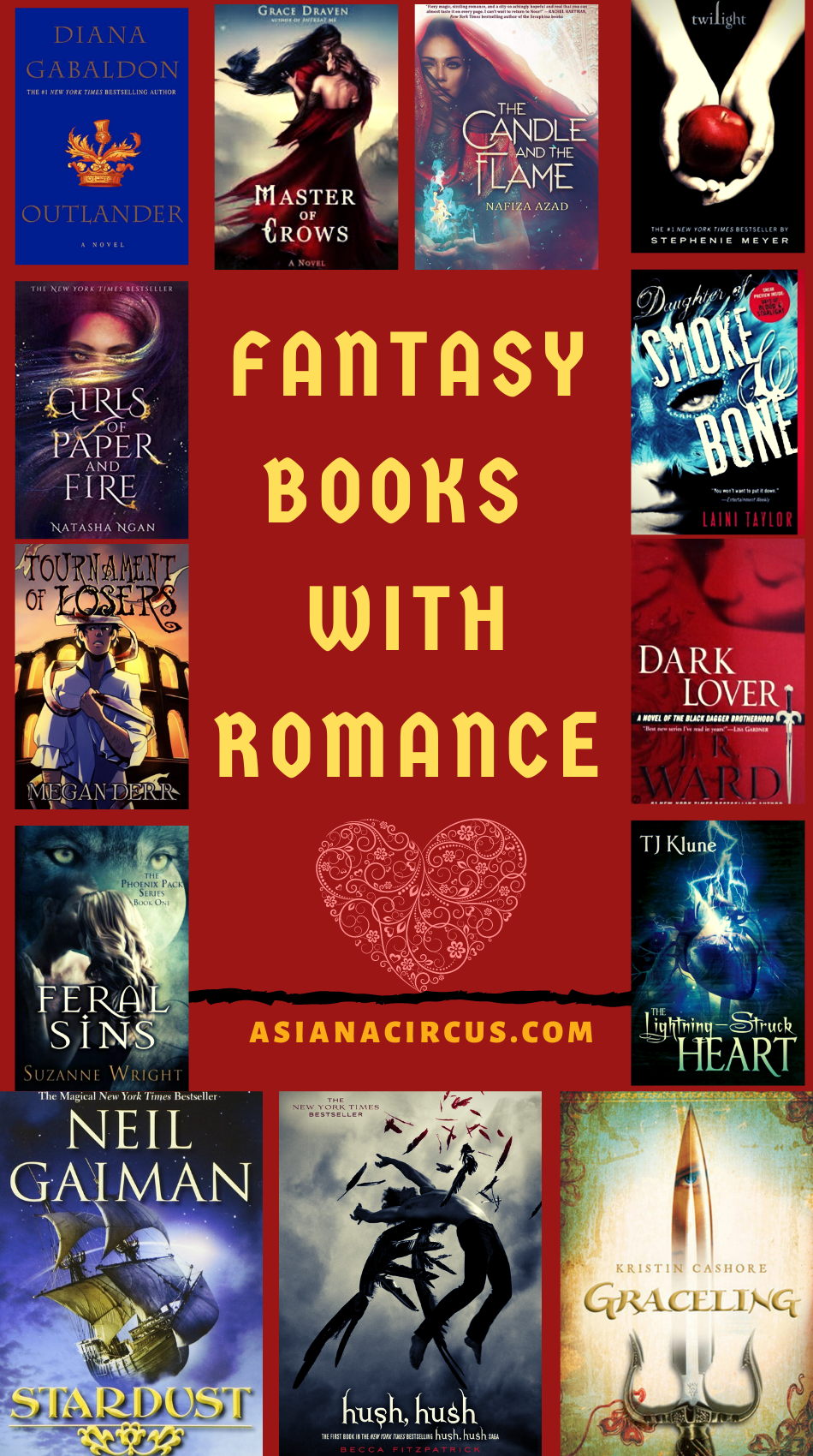 53 Best Fantasy Audiobooks Of All Time 2020 Updated Asiana Circus Fantasy Romance Books Romantic Fantasy Book Best Fantasy Book Series