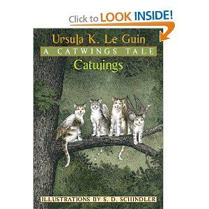 Catwings (A Catwings Tale): Ursula K. Le Guin, S. D. Schindler: 9780439551892: Amazon.com: Books