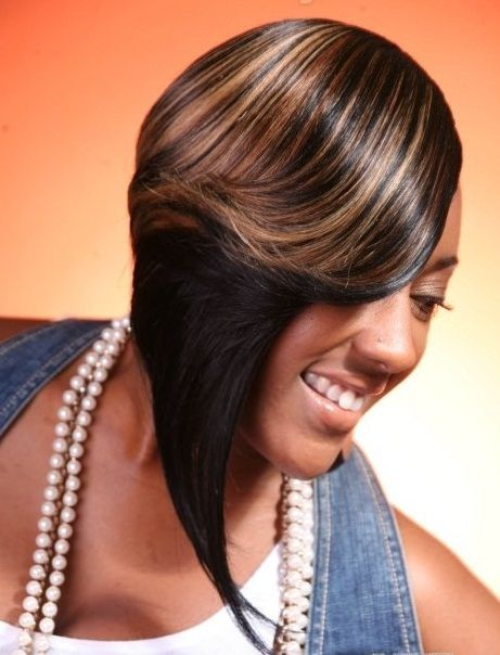 Latest Nigerian Weavon Hairstyles Pictures For Short And Long Hair | Short weave hairstyles ...