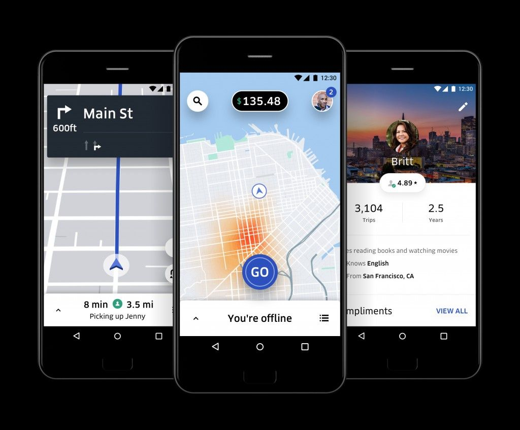 Uber App for Drivers Most Uber users are quite familiar