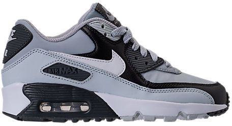 sports shoes 4af81 0a6c7 Nike Boys Grade School Air Max 90 Leather Running Shoes