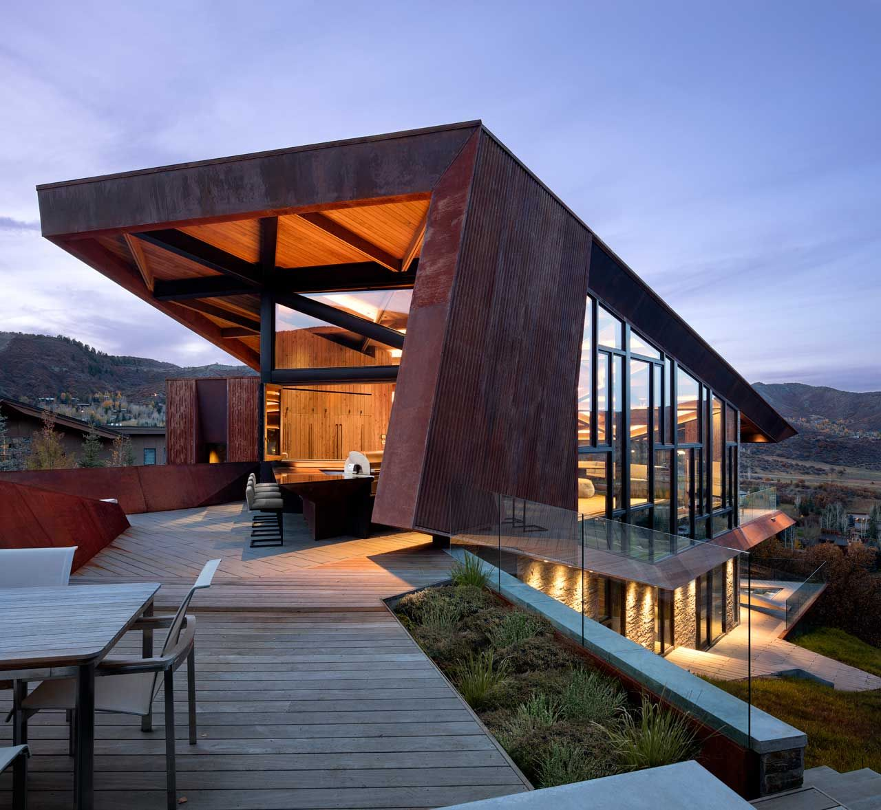 Owl Creek Residence Was Designed As A Place To Create Deeper