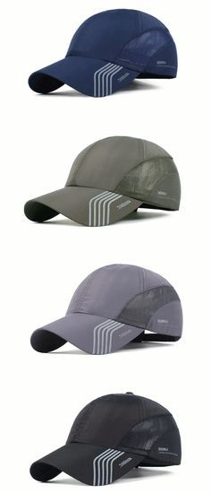 6f7c2be493dfb Mens Thin Breathable Quick Dry Baseball Cap Sunshade Leisure Outdoor Mesh  Hat