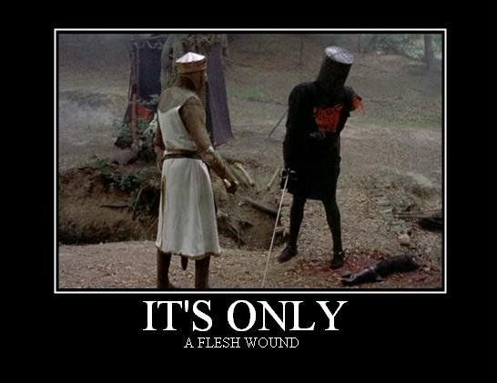 d8ed0df7eae2d85c6ac46202f946b48d monte python it's only a flesh wound i freaking love this movie