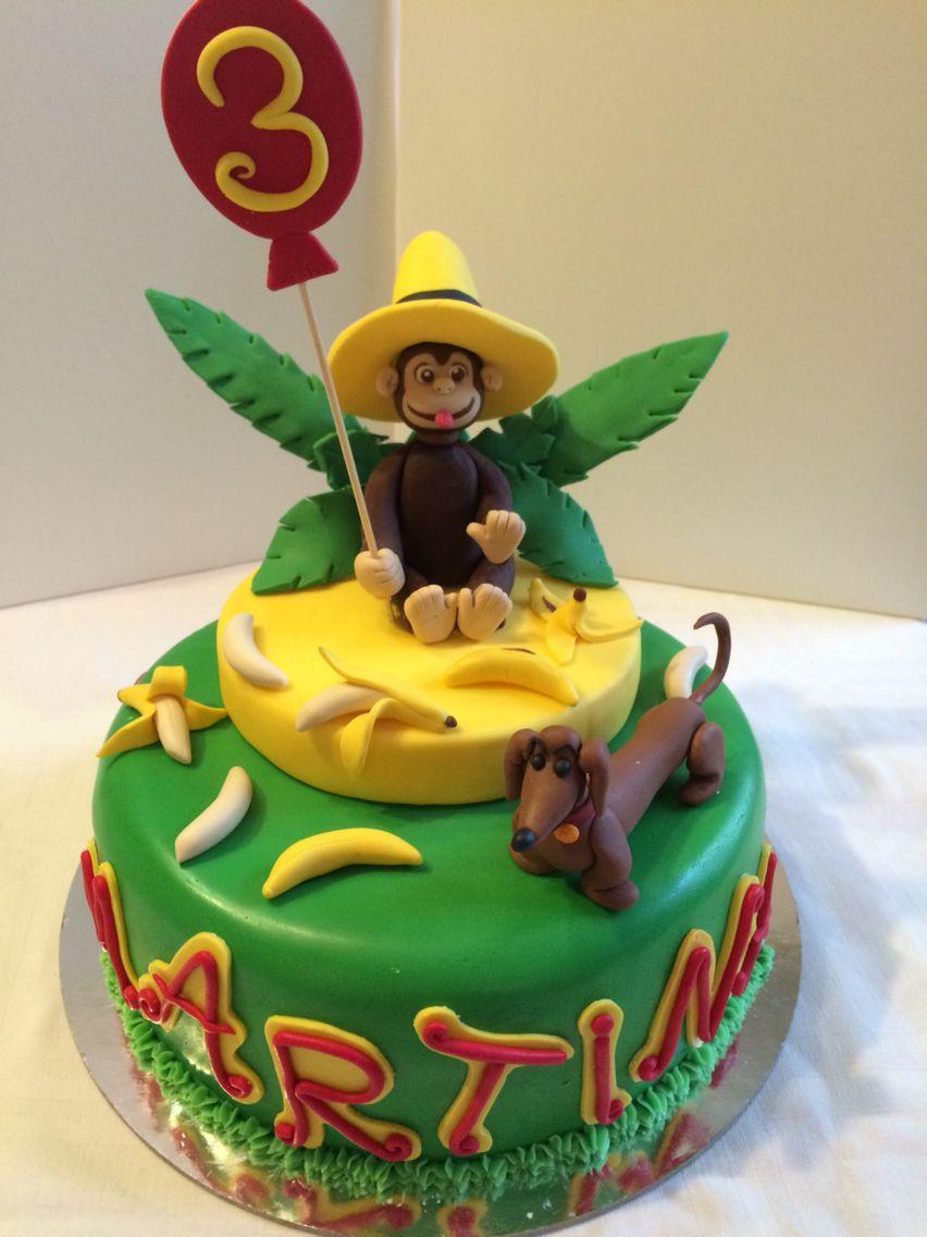Eccezionale Torta compleanno curioso come George | Sabrinacakeart | Pinterest  TP03