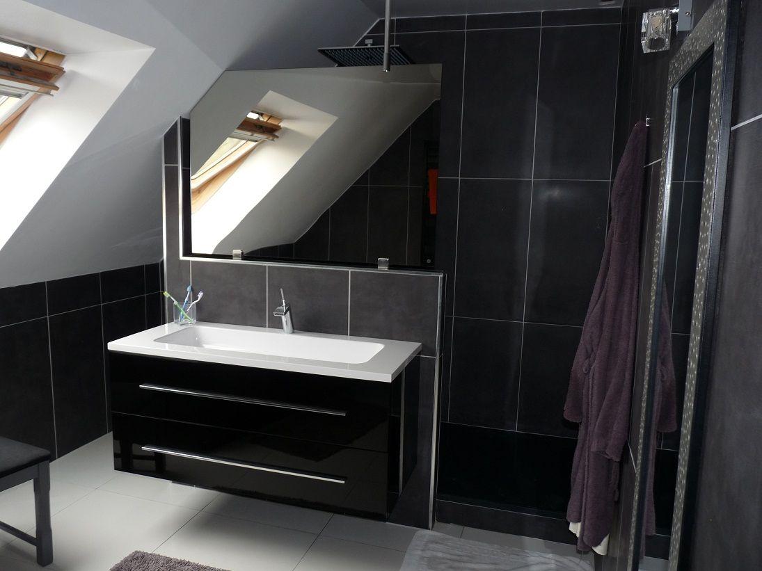 Noir Et Blanc Vanity Double Vanity Bathroom Vanity